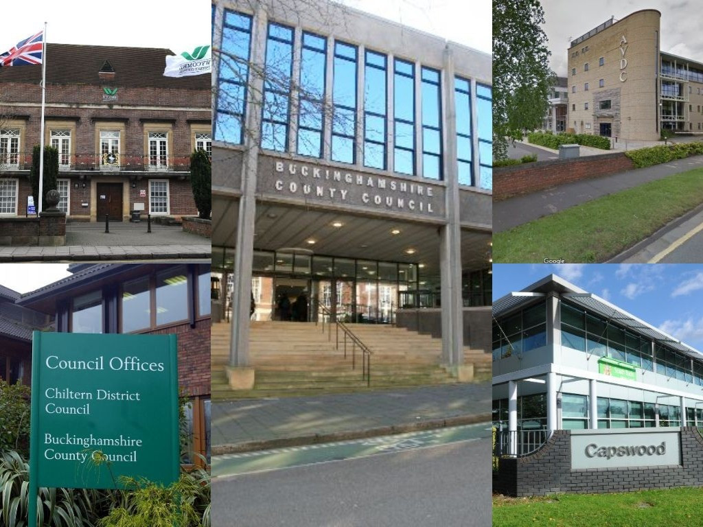 Collage of Bucks Councils