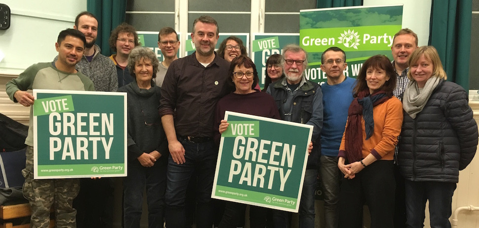 Chesham Green Party Social - Group photo