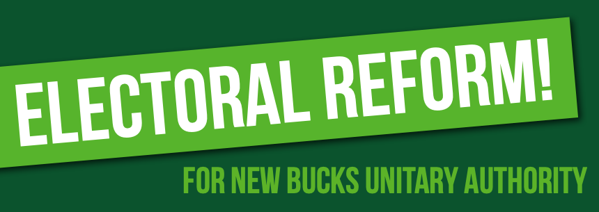 21st Century Voting System for New Bucks Unitary Authority